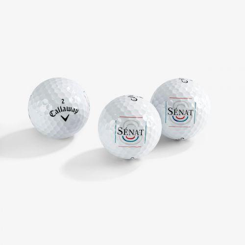 Balles de Golf Callaway/Sénat x3
