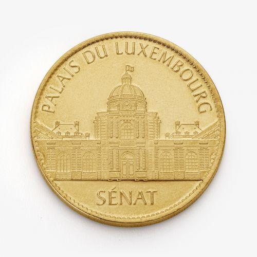 Médaille Palais du Luxembourg/Sénat - Métal Jaune 34mm