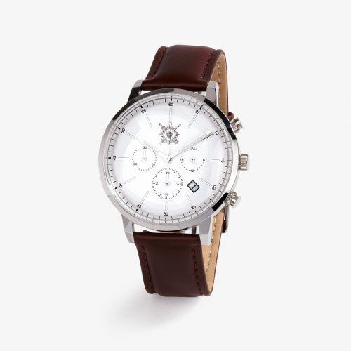 Montre homme Pierre Lannier / Sénat - bracelet cuir marron